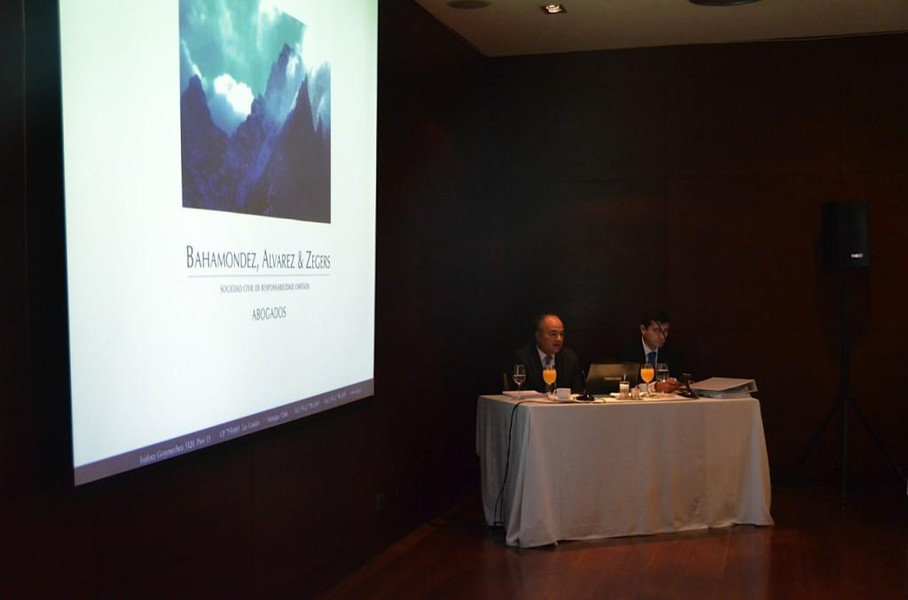 Expositores: Rodrigo Álvarez y Víctor Mancilla